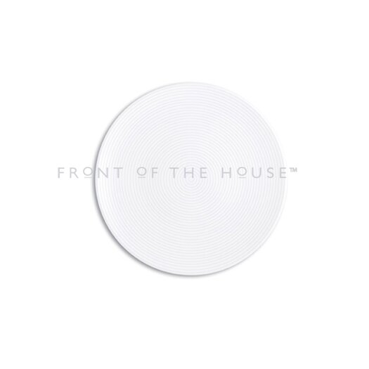 "Front Of The House Spiral 12"" Round Plate"
