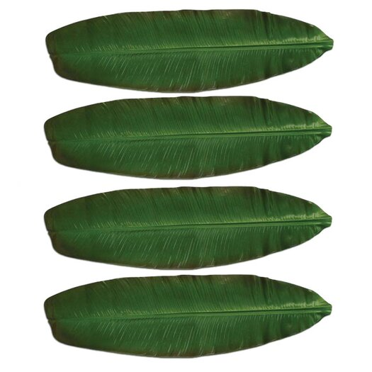 Front Of The House Philodendron Banana Leaf Table Runner
