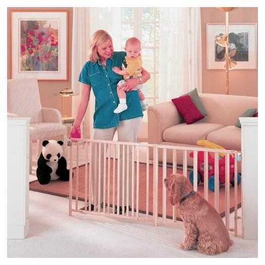 North States Extra Wide Stairway Swing Gate