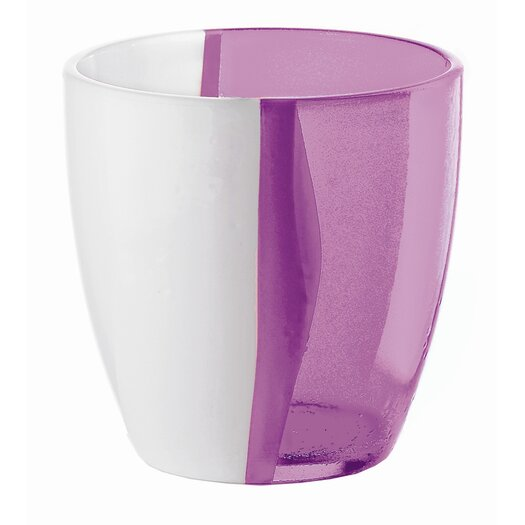 Guzzini Happy Hour Two Toned Water Glass in Violet