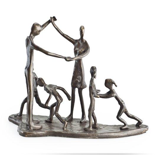 Danya B Children and Parents at Play Sculpture