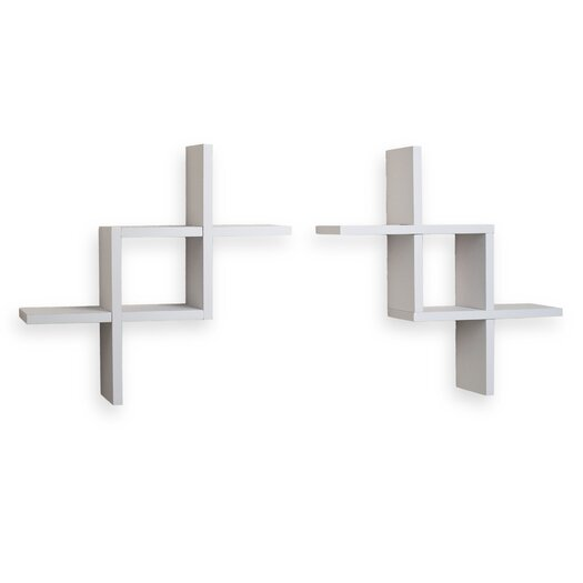 Danya B Reversed Criss Cross Shelf