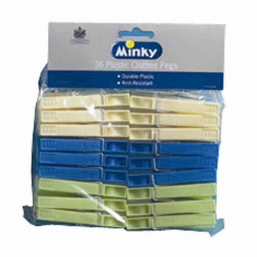 Minky Homecare Peg Clothes Pins