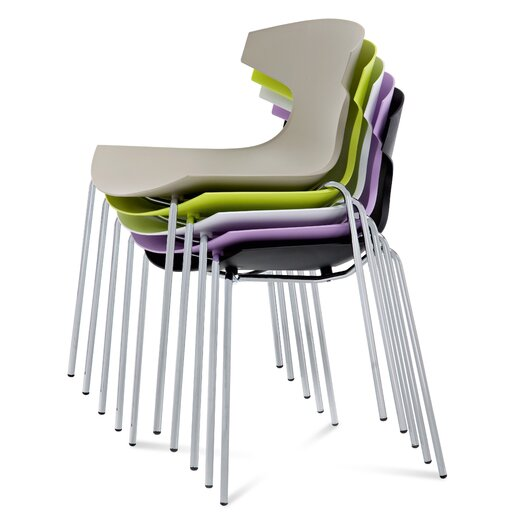 Domitalia Echo Armless Stacking Chair