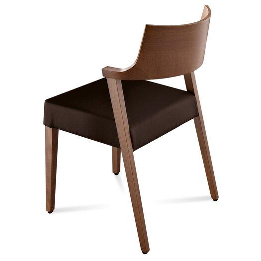 Domitalia Lirica Leather Side Chair