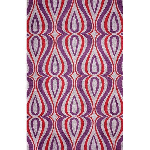 nuLOOM Uzbek Purple Luciano Area Rug