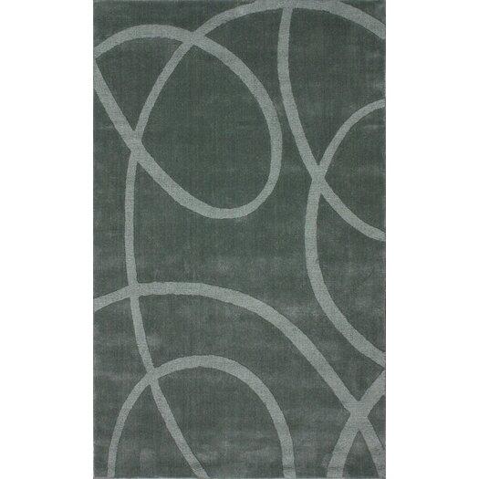 nuLOOM Gradient Loops Light Grey Area Rug