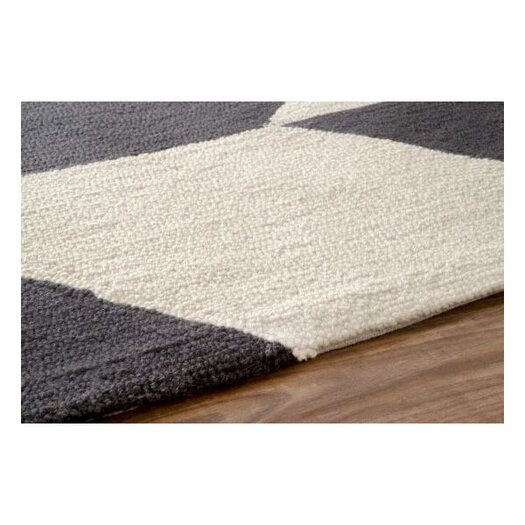 nuLOOM Chelsea Chevron Charcoal Area Rug