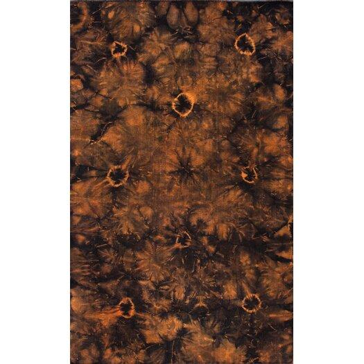 nuLOOM Couture Kilim Splash III Orange Rug