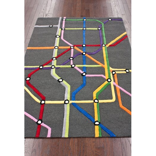nuLOOM KinderLOOM Subway Area Rug