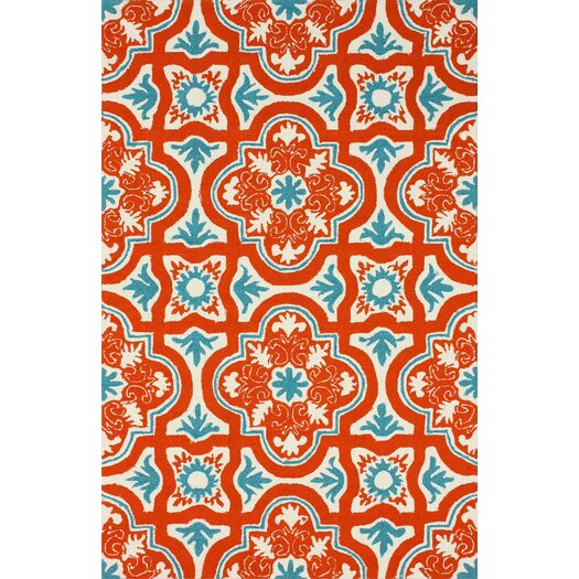 nuLOOM Braxton Red Indoor/Outdoor Area Rug