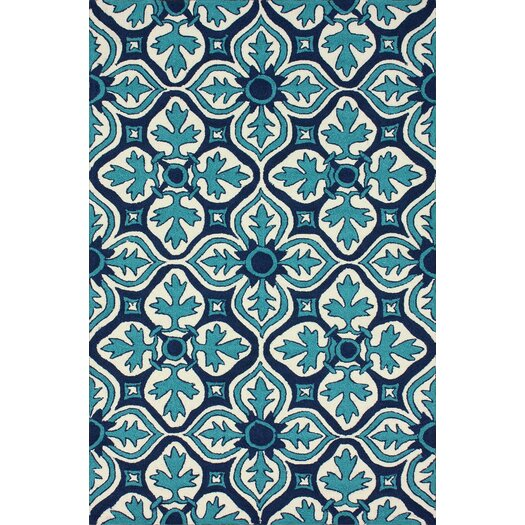 nuLOOM Homestead Blue Farida Area Rug
