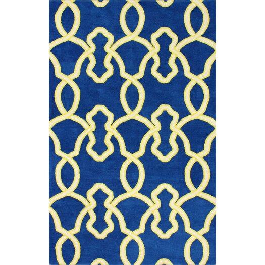 nuLOOM Moderna Ocean Blue Splendid Rug
