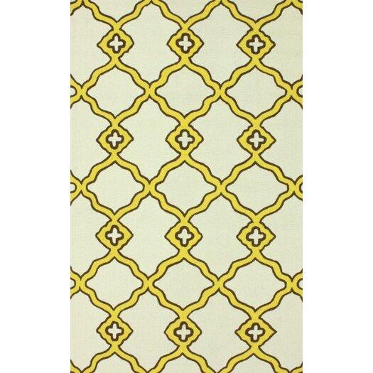 nuLOOM Trellis Yellow/Beige Naara Area Rug