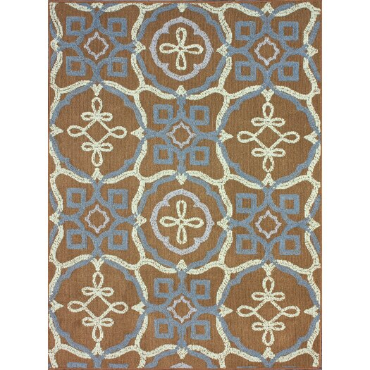 nuLOOM Pop Brown Area Rug
