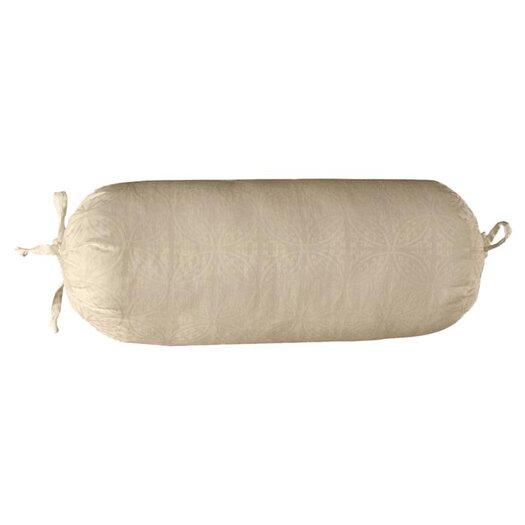 Pointehaven 650 Thread Count Jacquard Cotton Bolster Pillow