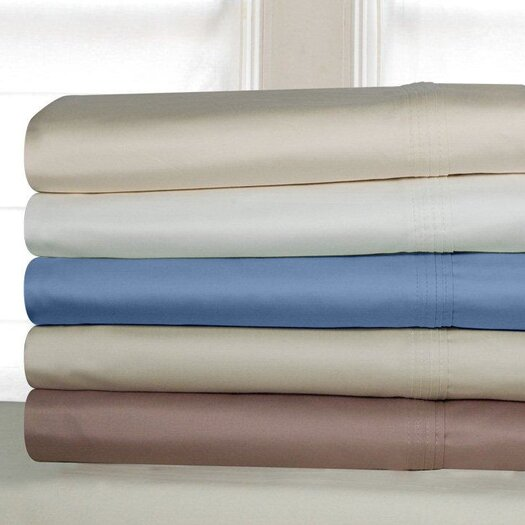 Pointehaven Luxury Pima Cotton 600 Thread Count Sheet Set