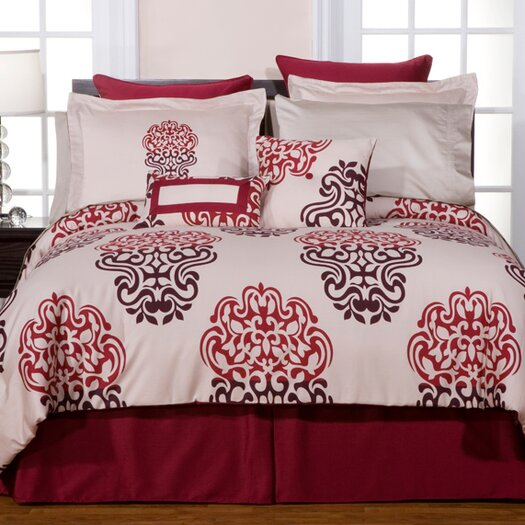 Pointehaven Cherry Blossom Duvet Set