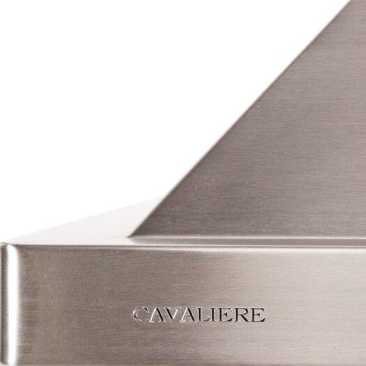"Cavaliere 30"" 900 CFM Ductless Wall Mount Range Hood in Stainless Steel"