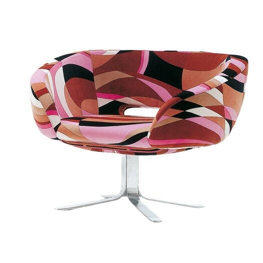 Cappellini Rive Droite Swivel Club Chair