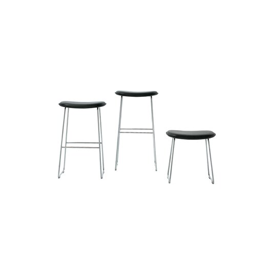 """Cappellini 27.5"""" Bar Stool with Cushion"""