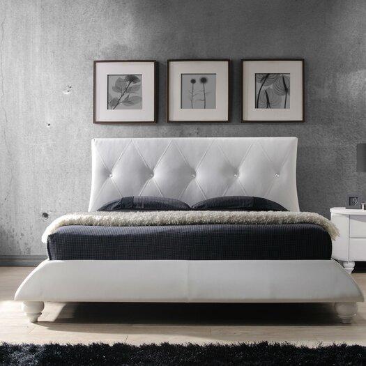 DG Casa Bellagio Upholstered Platform Bed