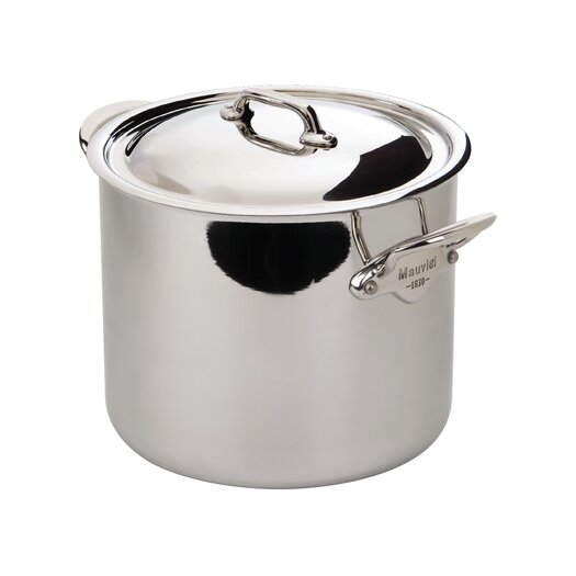 Mauviel M'Cook Stock Pot with Lid