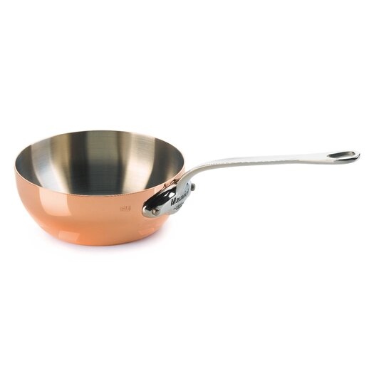 Mauviel M'heritage Saute Pan with Lid
