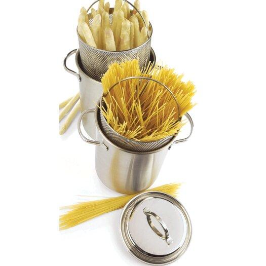 "Demeyere Resto 6.3"" Asparagus / Corn / Pasta Cooker Insert"