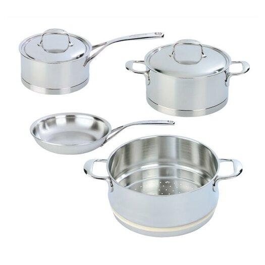 Demeyere Atlantis 7-Ply Stainless Steel 6-Piece Cookware Set