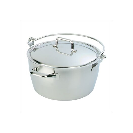 Demeyere Resto 10.6-qt. Stock Pot with Lid