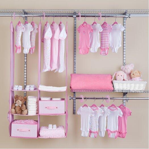 Delta Children Deep Nursery Closet Organizer 24 Piece Set Allmodern
