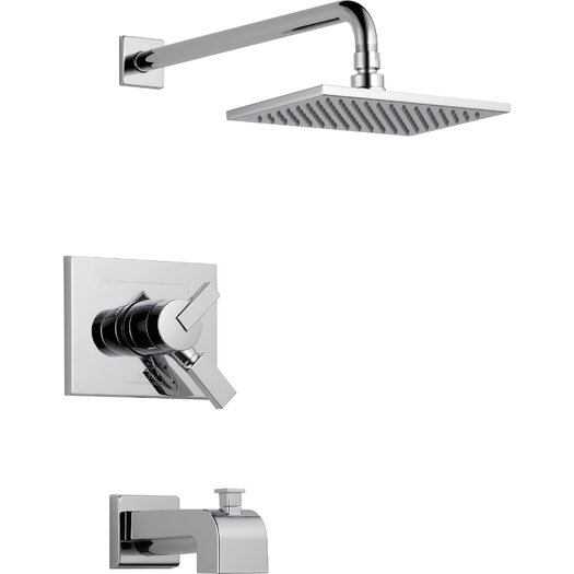 Delta Vero Volume Control Tub and Shower Faucet Trim with Lever Handles