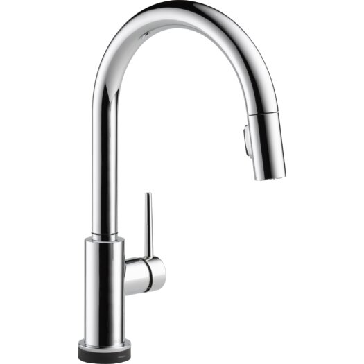 Delta Trinsic Single Handle Deck Mounted Kitchen Faucet