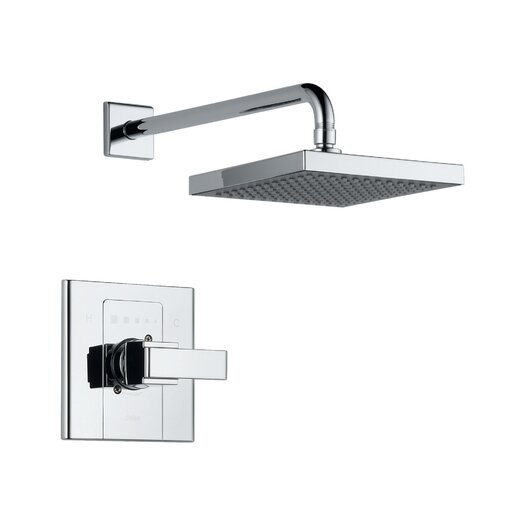 Delta Arzo Shower Faucet Trim with Lever Handles