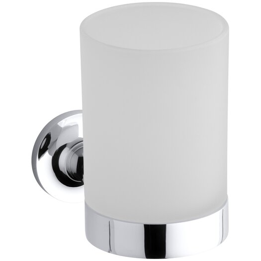 Kohler Purist Tumbler and Holder