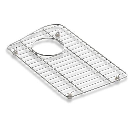 Kohler Lawnfield Sink : Kohler Lawnfield Stainless Steel Sink Rack, 15-13/32