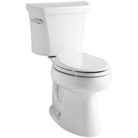 Highline Comfort Height Two-Piece Elongated 1.6 GPF Toilet with Class Five Flush Technology and Left-Hand Trip Lever Product Photo