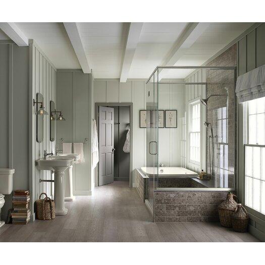 Bancroft Comfort Height Two-Piece Elongated 1.28 GPF Toilet with Aquapiston Flush Technology Product Photo