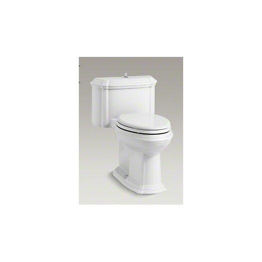 Portrait Comfort Height One-Piece Compact Elongated 1.28 GPF Toilet with Aquapiston Flush Technology, Lift Knob Actua... Product Photo