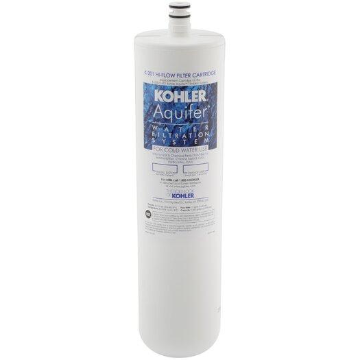 Kohler Aquifer High-Flow Refill Filter Cartridge