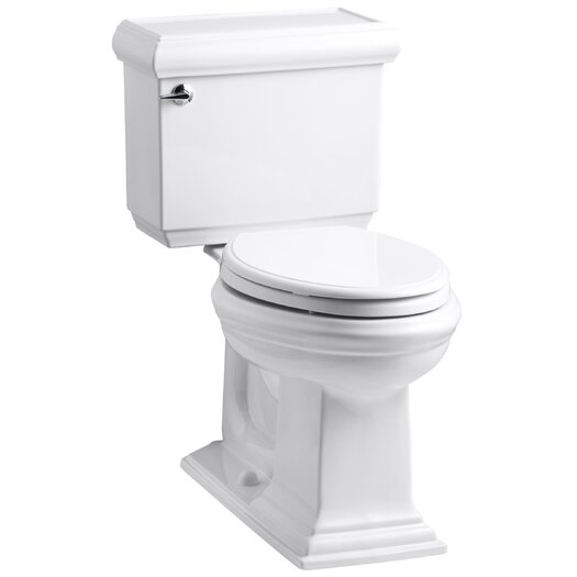 Memoirs Classic Comfort Height Two Piece Elongated 1.6 GPF Toilet with Aquapiston Flush Technology and Left-Hand Trip... Product Photo