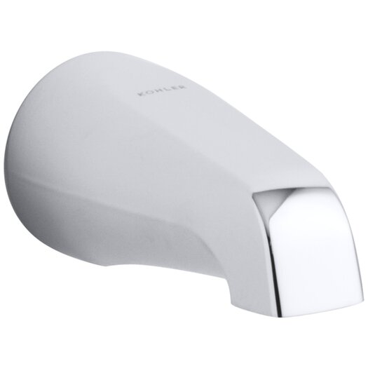 "Kohler Devonshire 4-7/16"" Non-Diverter Spout with Slip-Fit Connection"