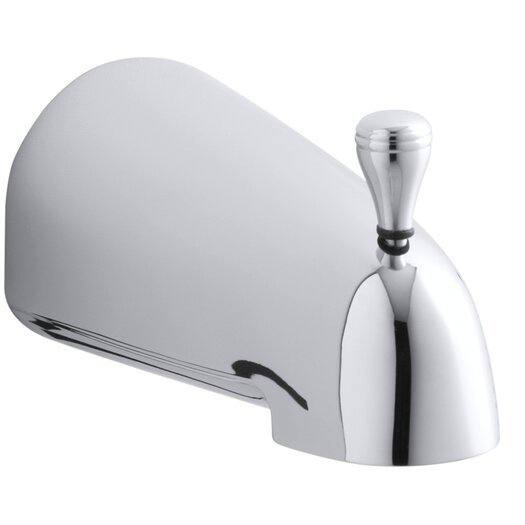 "Kohler Devonshire 4-7/16"" Diverter Bath Spout with Slip-Fit Connection"