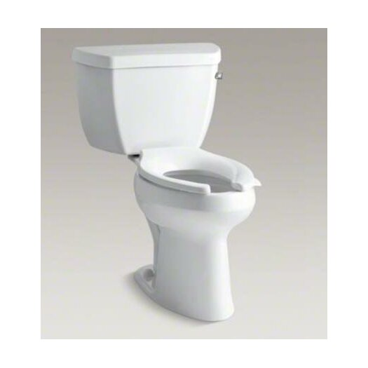 Highline Classic Comfort Height Two-Piece Elongated 1.6 GPF Toilet with Pressure Lite Flush Technology, Right-Hand Tr... Product Photo