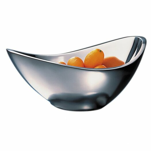 Nambe Butterfly Fruit Bowl