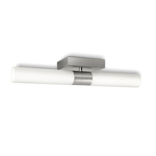 philips consumer luminaire 2 light semi flush mount allmodern. Black Bedroom Furniture Sets. Home Design Ideas