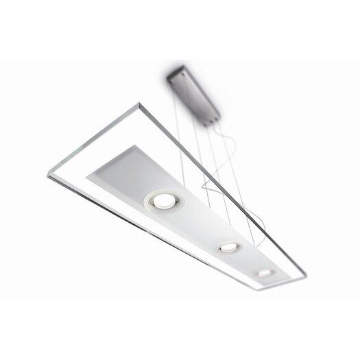 philips consumer luminaire vidro 3 light kitchen island pendant allmodern. Black Bedroom Furniture Sets. Home Design Ideas