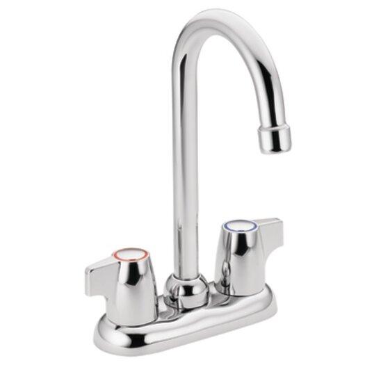 Moen Chateau Double Handle Centerset Bar Faucet with Spout Swing