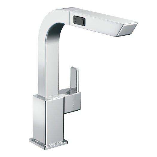 Moen 90 Degree Single Handle Deck Mount Kitchen Faucet